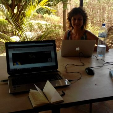 Our new office… in Africa