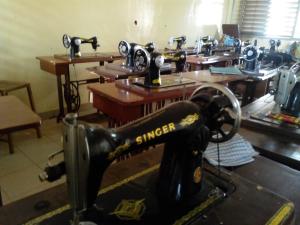 La macchina da cucire che utilizzava mia madre quando era giovane!
