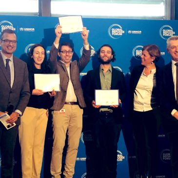 We won the UN Refugee Agency's Innovation Award!