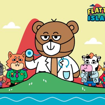 Flatten Island is available!